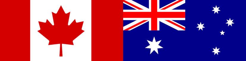 studiare all'estero e lavorare durante gli studi: meglio studiare in Australia o studiare in Canada?