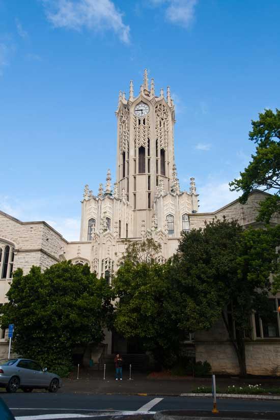 università in Nuova Zelanda: l'university of Auckland
