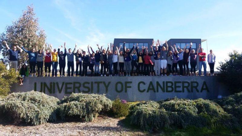 university of canberra discipline migliori