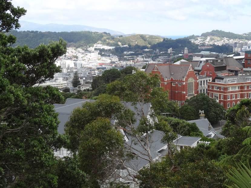 Victoria University of Wellington campus università in Nuova Zelanda