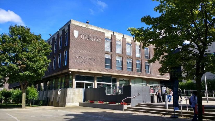 university of Liverpool università nel Regno Unito