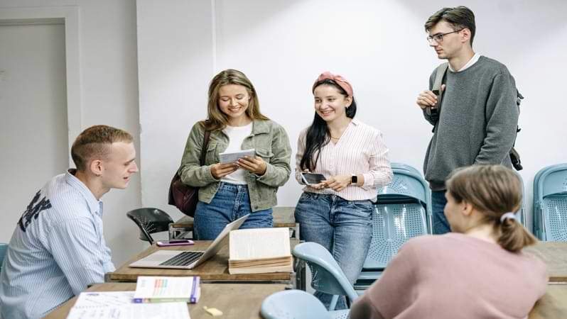 Il Centennial College è frequentato da tanti studenti internazionali